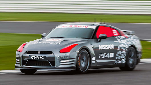 What it's like to drive a Nissan GT-R with a PlayStation controller - Autoblog
