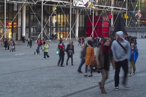 Centre Pompidou, Paris by i_noriyuki