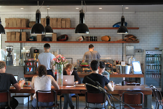 What are people working on in coffee shops? – The Mission