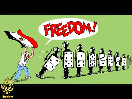 Freedom for Egypte.