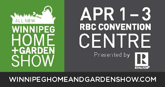 Winnipeg Home & Garden Show April 1-3, 2016