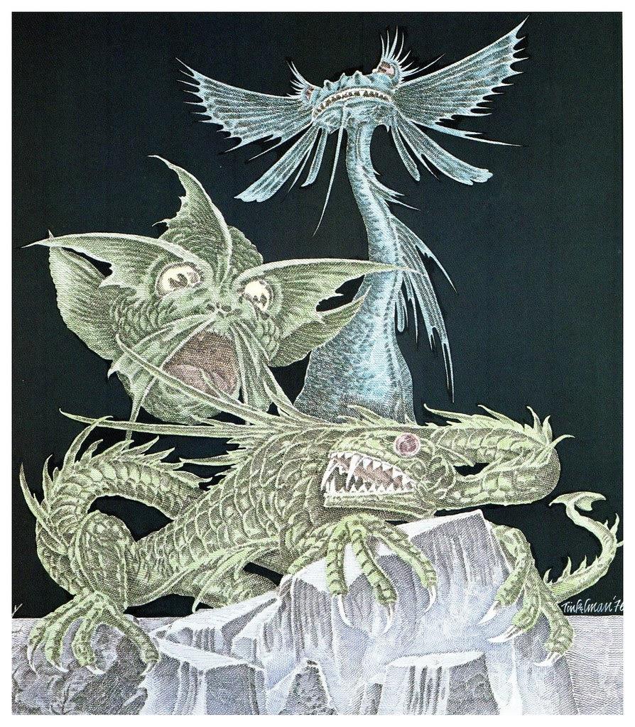Murray Tinkelman - H.P Lovecraft Illustration 4