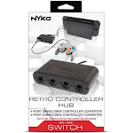 Nyko Retro GameCube Controller 4 Port Hub Converter Adapter for Nintendo Switch
