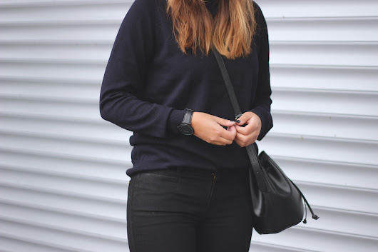 OUTFIT: My way of wearing black and navy | Shout-out to you: OUTFIT: My way of wearing black and navy