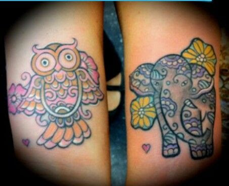Cute Owl Tattoo Daughter Wwwpicturessocom