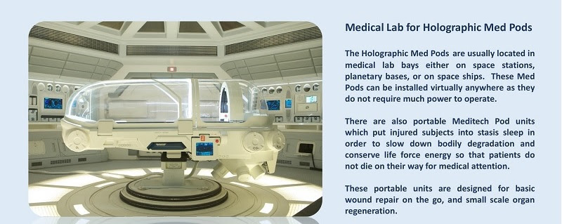 Holographic Medical Pods: BlissfulVisions.com