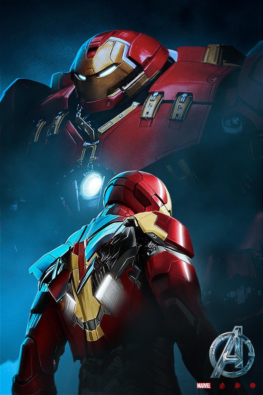 Avengers: Hulkbuster Poster by John Aslarona