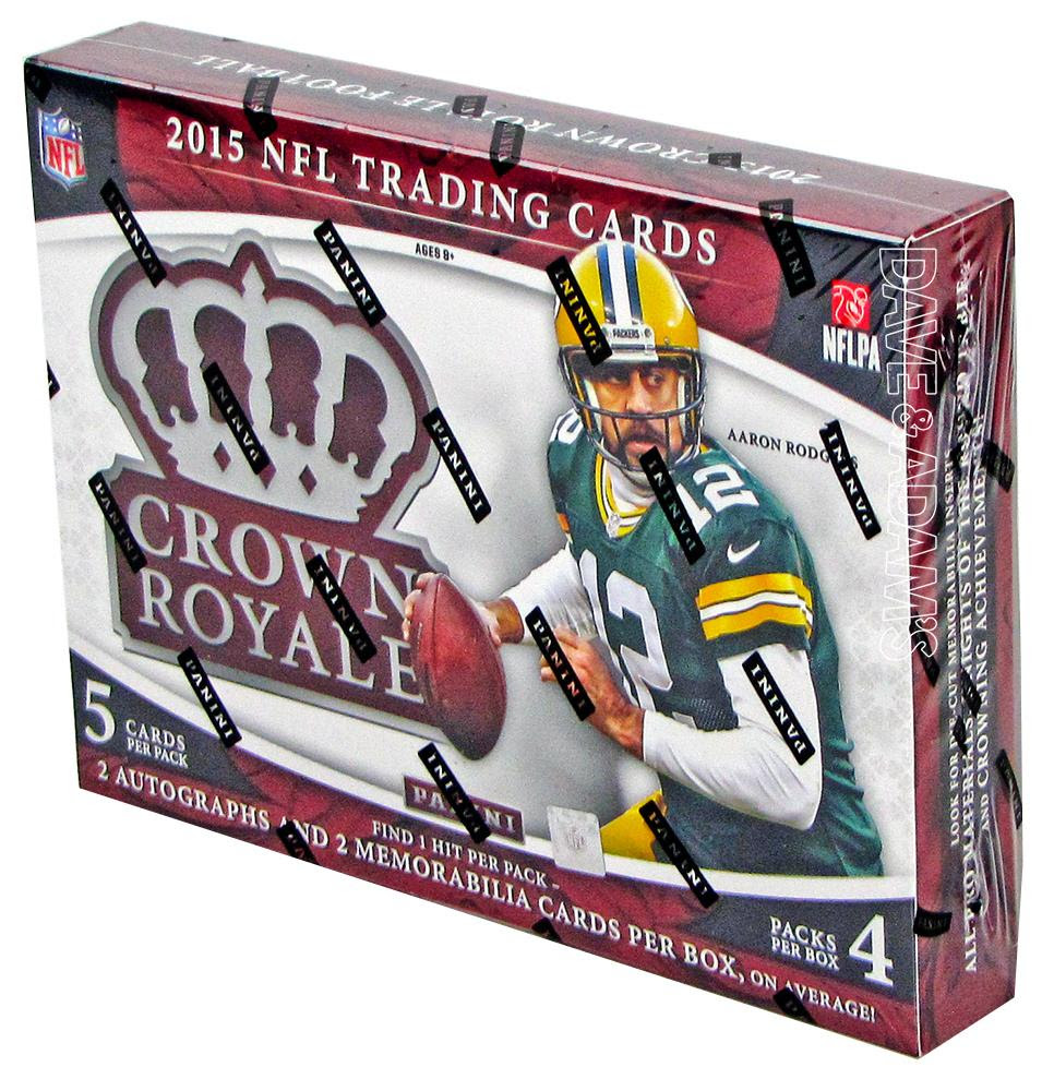 2015 Panini Crown Royale Football Hobby Box  DA Card World