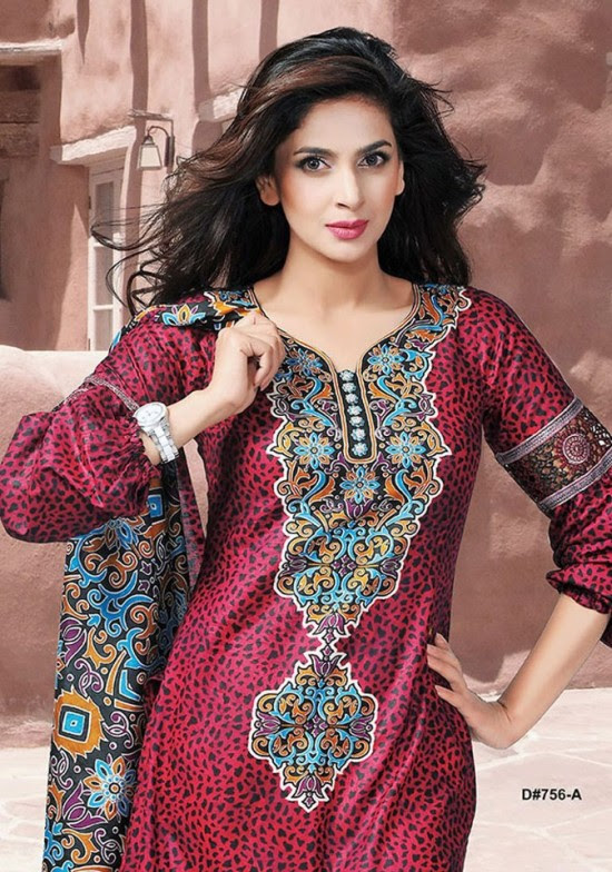 Dawood-Textile-Classic-Lawn-Collection-2013-New-Latest-Fashionable-Clothes-Dresses-1