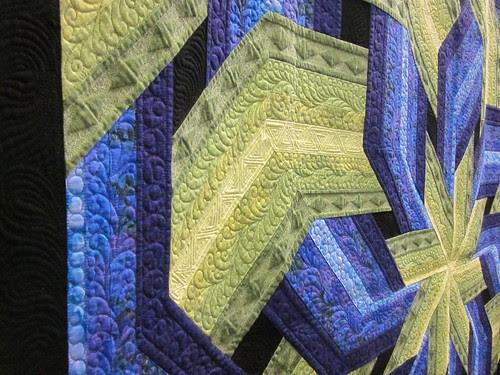 "detail of ""Elsa's Knot"" by Ann Helbling of Fargo, ND"