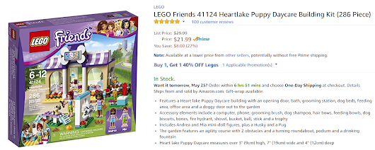 *HOT* LEGO Friends Sets Buy 1 Get 1 40% Off | STL Mommy