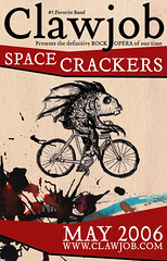 Clawjob Space Crackers poster