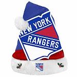 New York Rangers Santa Hat Basic Design 2018
