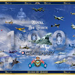 ROYAL AIR FORCE 100 CENTENARY PRINT (featuring over 20 aircraft 1918-present - Kent - free classifieds in United Kingdom