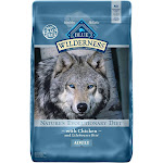 Blue Buffalo Blue Wilderness Adult Chicken Recipe Dry Dog Food, 24 lbs.