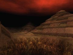 Pyramids in Tomb Raider 4