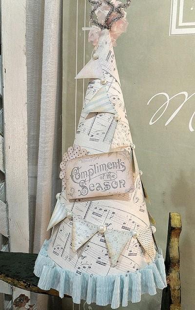 40+ Beautiful Vintage Christmas Tree Ideas