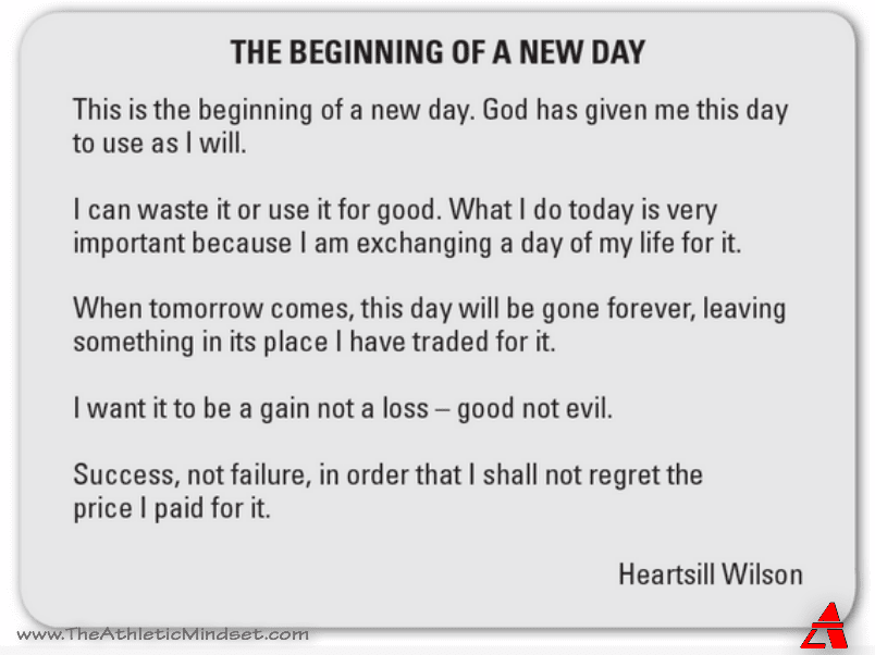 This Is The Beginning Of A New Day Heartsill Wilson Quote Of