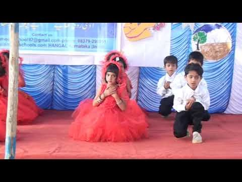 we shall over come dance by 1st STD AL-AMEEN SCHOOL HANGAL