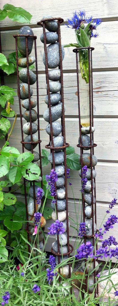 DIY Garden Projects with Rocks   The Garden Glove