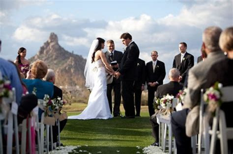 Scottsdale Wedding Troon Country Club