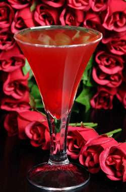 The Crown of Roses Cocktail Photo