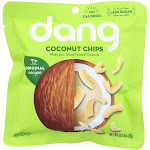 Dang - Toasted Coconut Chips - Original Recipe - Case of 24 - .7 oz.
