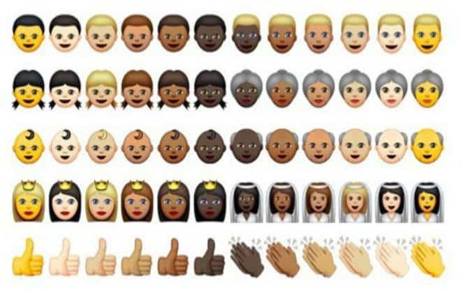 Emojis etnicos chegam ao WhatsApp Android