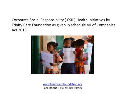 Corporate social responsibility (CSR ) Health initiatives