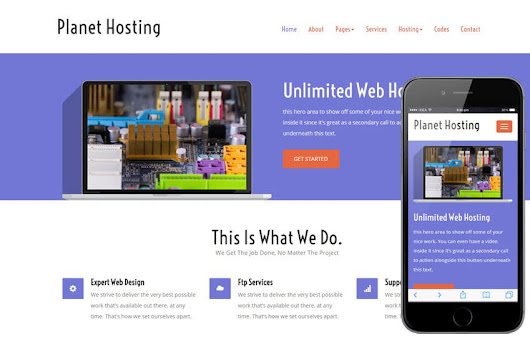 Planet Hosting a Web Hosting Flat Bootstrap Responsive Web Template - w3layouts.com