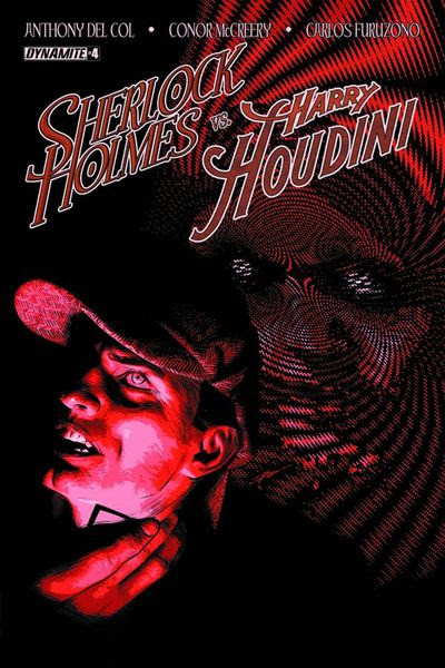 Holmes vs. Houdini #4 (of 5) (Cover A - Campbell)