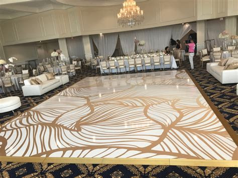 Wedding Event Dance Floor Wrap Decor ? Stargrafix