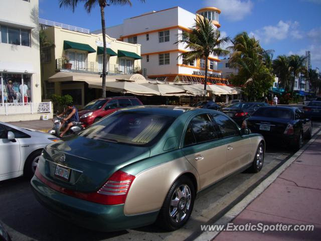 Mercedes Maybach spotted in Miami Beach, Florida on 07/02/2013