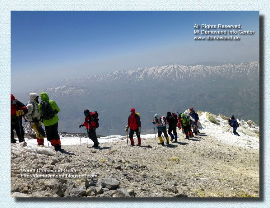 Damavand Iran Trek Tour
