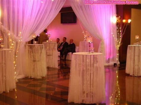 Cocktail Wedding Decor