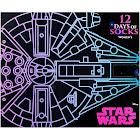 Star Wars Women's 12 Days of Advent Calendar Sock Sets - Multi - Size:4-10