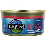 Wild Planet Wild Pink Salmon with Sea Salt 6 oz.