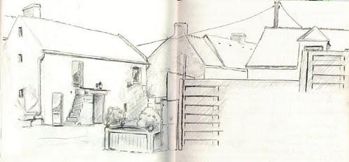 SteBarbe: vue de la terrasse