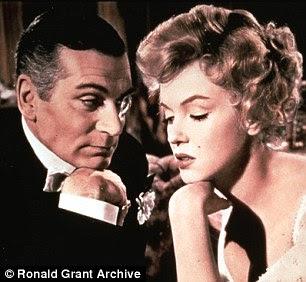 Laurence Olivier e Marilyn Monroe em O Príncipe eo Showgirl