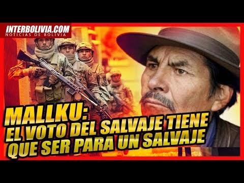 �� ENTREVISTA AL MALLKU A 3 DIAS DE LAS ELECCIONES MUY CRÍTICO CON EL GOB...