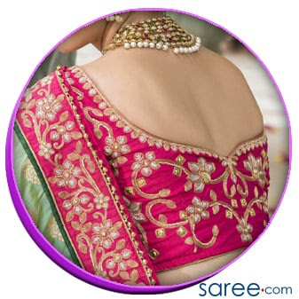 Heavy Blouse Back Design
