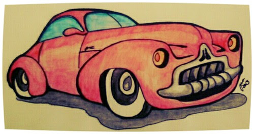 Red Car by JMADesigner
