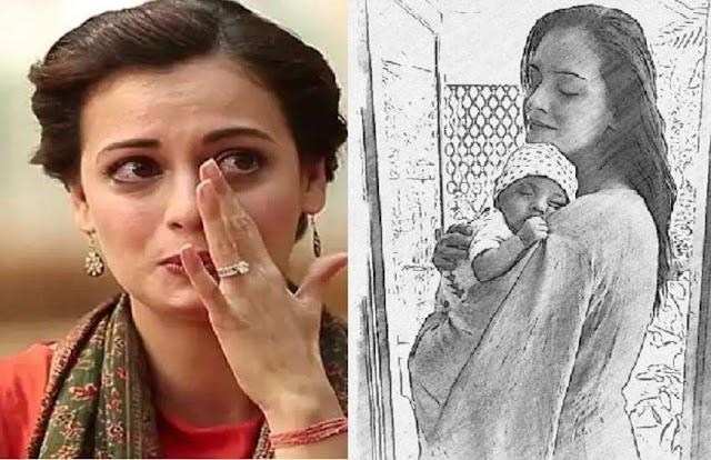 5 महीने के बेटे को छोड़ काम पर निकली दीया मिर्जा, लाडले को सीने से लगाकर बयां किया अपना दर्द