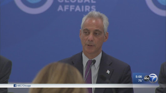 Mayor Emanuel signs order committing Chicago to Paris Agreement, welcomes global leaders to Chicago |