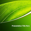 Nature Preservation PowerPoint Template