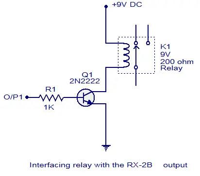 transistor relay driver