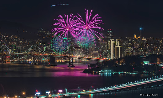 San Francisco New Year's Eve Fireworks at Midnight | 2017/2018