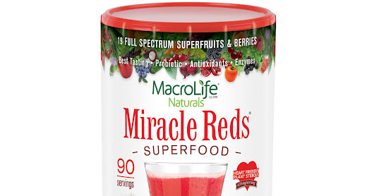 Miracle Reds Superfruit Powder – 90 Servings
