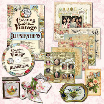 Creating with Vintage Illustrations CD #2 picture