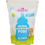 Dapple Automatic Dishwasher Pods-Fragrance Free-25 Count